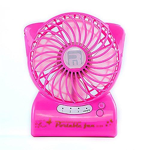 Mini ventilatore portatile mini computer portatile mute ventola usb studente ostelli office carica ventilatori elettrici, rosa