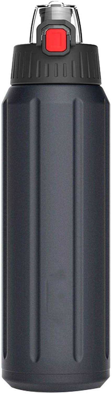 Shaker Sports Water Bottle Portable 18 10 Stainless Steel Flask Tritan Lid Bpa Free Jar LeakProof Canteen
