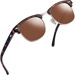 SUNGLASSES FOR MEN WOMEN - Half Frame Polarized Classic fashion womens mens sunglasses FD4003