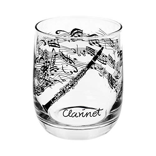 Glas Klarinette schönes Geschenk für Klarinettisten
