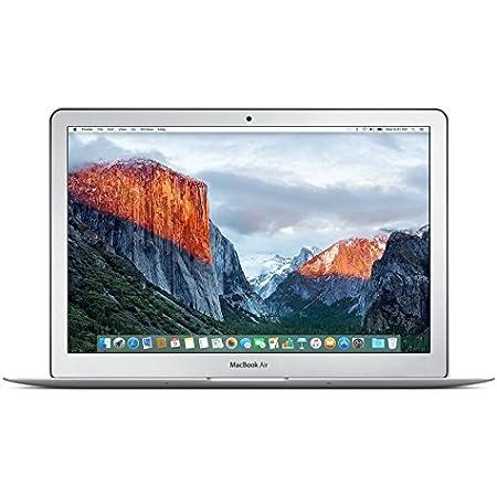 Laptop MacBook Air de 13 pulgadas(Intel Core i51.6GHz, 8GB de RAM, 128GB SSD, Intel HD Graphics 6000, OS X El Capitan) Silver & black 128 GB