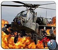 ZMvise軍用ヘリコプターパターンファッション漫画マウスパッドマットカスタム長方形ゲーミングマウスパッド