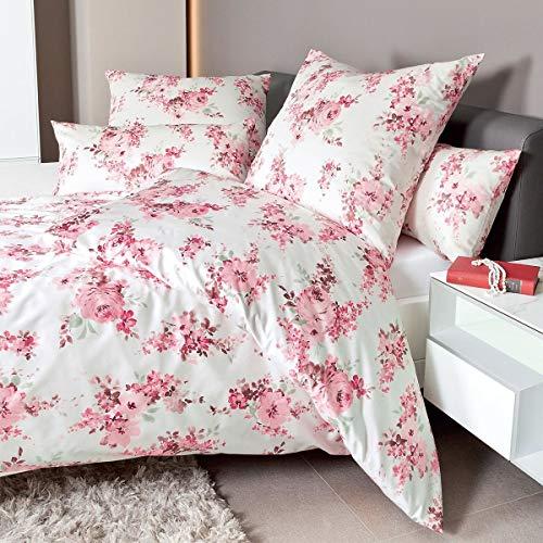 Janine Design Interlock Feinjersey Bettwäsche Carmen 53076-01 1 Bettbezug 135 x 200 cm + 1 Kissenbezug 80 x 80 cm