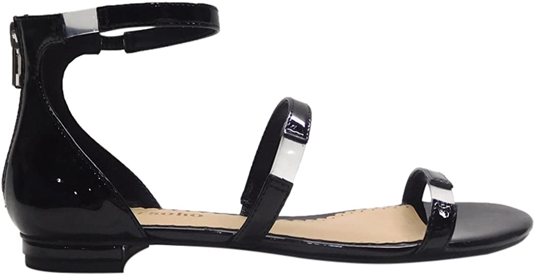 ZiGi Soho Women's Pamina Flat Sandal Medium Patent Black Fresno List price Mall 6 US
