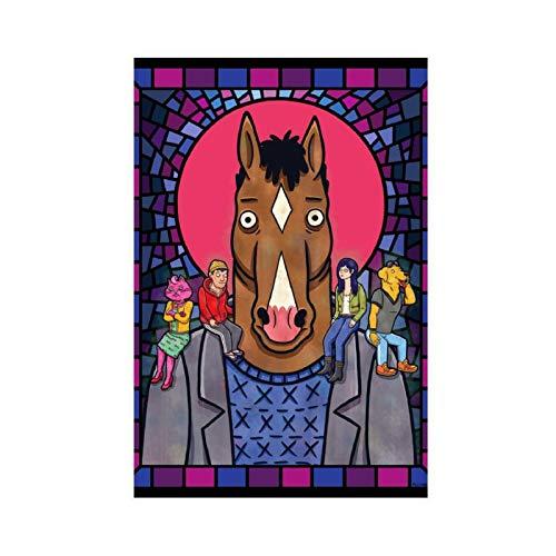 Anime BoJack Horseman 14 poster su tela di canapa decorazione da parete per soggiorno camera da letto decorazione 30 x 45 cm Unframe-style1