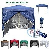mcc direct Gazébo/Pavillon/Tente/Tonnelle/Auvent Pliable et résistant à l'Eau,...