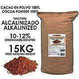 Cacao Venezuela Delta - Cacao en Polvo Puro 100% · Alcalinizado · Desgrasado 10-12% · 15kg