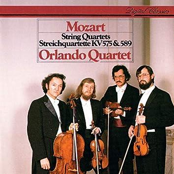 Mozart: String Quartets Nos. 21 & 22