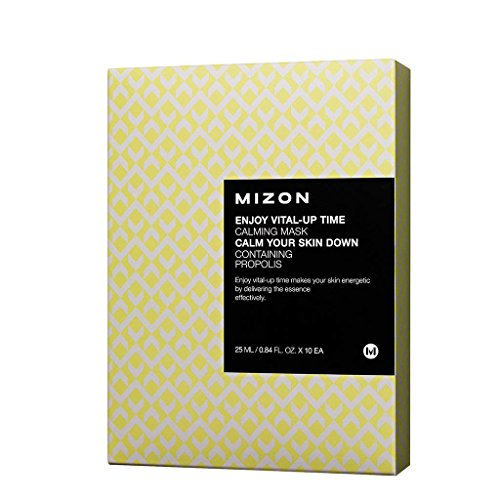 [MIZON] Enjoy Vital-Up Time Calming Mask Set 25ml x 10ea