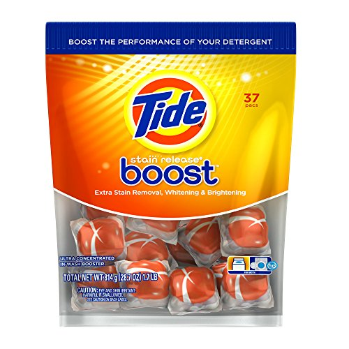 Tide Boost Duo Pac In-wash Booster, 37 ct