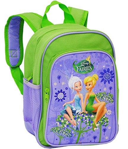 alles-meine.de GmbH Kinder Rucksack -  Disney Fairies - Tinkerbell  - Tasche - wasserfest & beschichtet - Kinderrucksack / groß Kind - Mädchen - z.B. für Kindergarten / Vorschu..