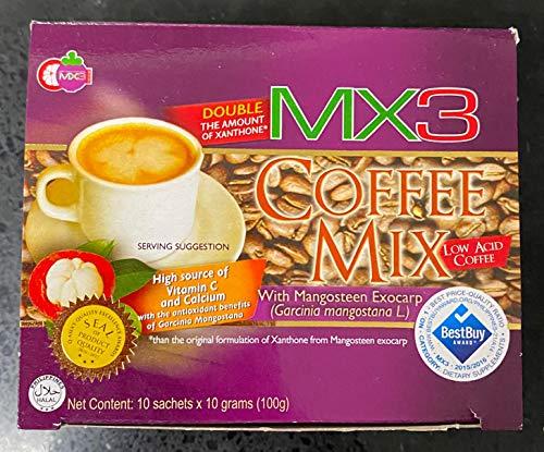 MX3 Mangosteen Coffee Mix (10 Sachets) Sugar Free