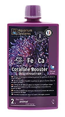 Aquarium Systems Reef Evolution Coralline Booster pour Aquariophilie 250 ML