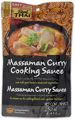 Real THAI Sauce Massaman Curry 250ml