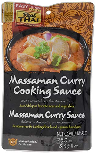 Real THAI Sauce Massaman Curry 250ml
