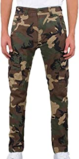 ALPHA INDUSTRIES Men Cargos Agent C Camouflage W 31