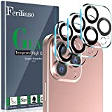 Ferilinso Designed for iPhone 13 Pro Max Camera Lens Protector, Designed for iPhone 13 Pro Camera Lens Protector, 3 Pack 9H Tempered Glass, Night Shooting Mode, Case Friendly, Ultra High Definition