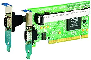 Brainboxes RS232 2 Port Low Profile PCI Serial Port Card