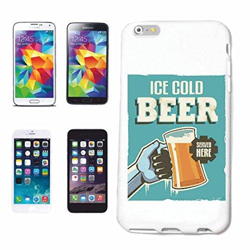 Bandenmarkt telefoonhoes compatibel met Huawei P9 Ice Cool Beer IJs Koud bier WITENBIER PILZ HEP BIERGLAS Bierpul Party JunggeschelENAFSCHIED Bier Wodka S