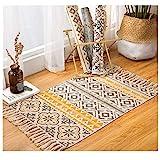 alfombra etnica pequeña