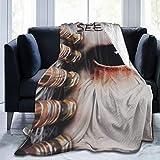 Qq6-earn-store Seether Ultra-Soft Micro Fleece Blanket Winter Lightweight Quilt Keep Warm Fabric Cute Blanket Bed Sofa Home Office