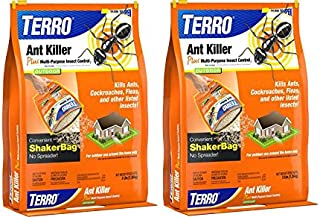 Terro 901-6 Ant Killer 3 Pound Shaker Bag Outdoor Insect Pest Control Lot of 2