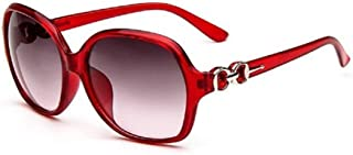 Bullidea Sunglasses Women's Large Frame Polarized Eyeglasses Driving Fishing Golf Goggles Eyewear UV 400 Protection Color Lens