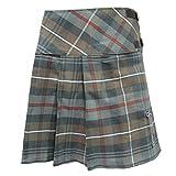 Tartanista Womens 20 Inch Weathered Tartan Kilt Skirt