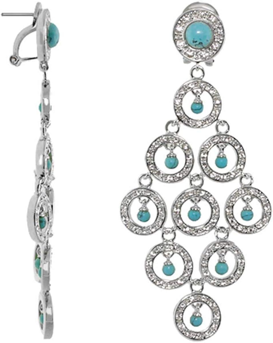 Chandlalier Earrings - French Clip