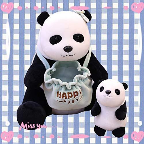 wqmdeshop Peluche 25Cm Animales De Dibujos Animados Peluche Panda Madre E Hijo Juguete De Peluche Erizo Pangolín Canguro Muñecas Niños Niños