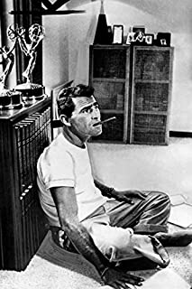 Rod Serling in The Twilight Zone Sitting on Office Floor with Cigar Awards 18x24 Poster