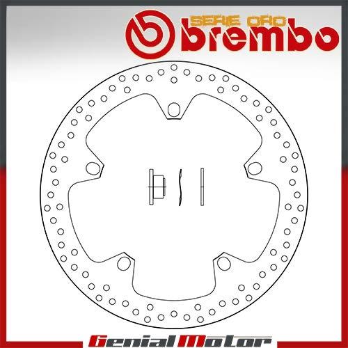 168B407D7 Bremsscheibe Fest Brembo Serie Oro Vorne fur R Nine T 1200 2014 > 2016