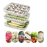 Aufbewahrungsbox für Kühlschrank, mit Deckel, Kunststoff, für Gefrierschrank,...