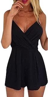 MORE Women Summer Sleeveless Playsuit Jumpsuit Romper Trousers Clubwear