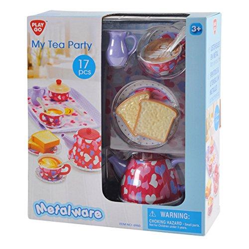 PlayGo 6960 - Mis Tea Party, Juguete de Cocina, 17 Piezas