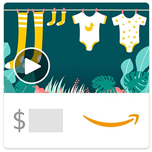 Amazon eGift Card - Baby Clothes (Animated)