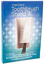 Intellident Antimicrobial Toothbrush Shields 10ct Pack of 12