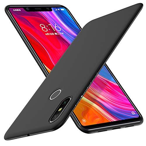 Yocktec Funda Xiaomi Mi 8, Funda Ultrafina de Gel de TPU Suave esmerilada para el teléfono Inteligente Xiaomi Mi 8 2018