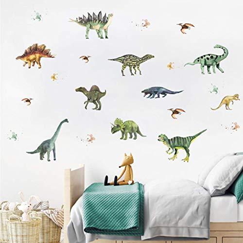 Dinosaurio Colorido Vinilo Pegatinas Decorativas Adhesiva Pared Pegatinas Pared Dinosaurio Colorido para...