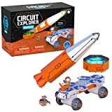 Educational Insights Circuit Explorer Rocket, Easter Gift, Building Set & Beginner Circuit Building, STEM Toy, Perfect for Kids Ages 6+
