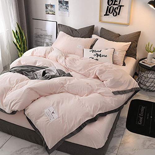 N / A Pure color crystal velvet four-piece fitted sheet duvet cover Falai velvet bed cover suitable for single double king-_jade_Bed_sheet:_120cm*200cm*25cm(3pcs)
