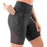 RONGYP Leggings de mujer de cintura alta, anticelulitis, control de abdomen, pantalones de...