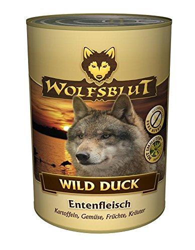 Wolfsblut | Wild Duck | 6 x 395 g | Ente | Nassfutter | Hundefutter | Getreidefrei