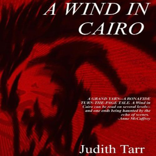 A Wind in Cairo audiobook cover art