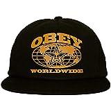 Obey - Berretto Snapback da uomo, colore: Nero