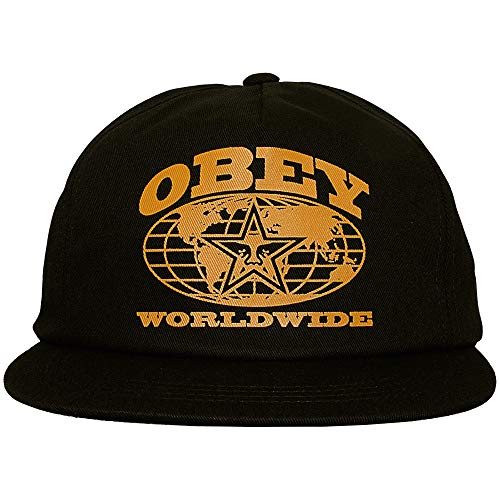 Obey - Casquette Snapback Homme Flushing Snapback - Black