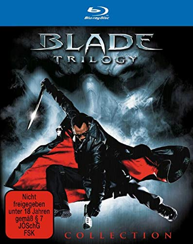 Blade 1-3 Trilogy Collection UNCUT [Blu-ray]