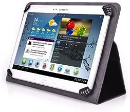 Visual Land Prestige Elite 10QL 10.1 Inch Tablet Folio Case - UniGrip 10 Edition by Cush Cases (Black)