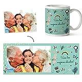 Fotoprix Taza Personalizada con Foto para los Abuelos   Regalo...