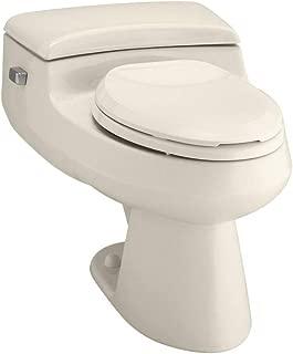 KOHLER K-3597-47 San Raphael Comfort Height Pressure IIte 1.0 GPF Elongated Toilet, Almond